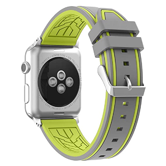 Fmway Repuesto de Correa Reloj de Silicona para Apple Watch Series 4 40mm, Apple Watch