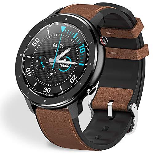Fullmosa Smartwatch Mujer Hombre Reloj Inteligente, FW-12 Fitness Tracker con Frecuencia Cardíaca Monitor SoP2, Pulsera…