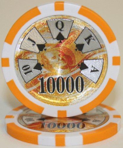 25 $10,000 Ben Franklin 14 Gram Laser Graphic Poker (14g Laser)