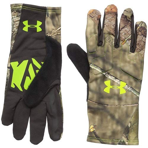Under Armour Men's Scent Control 2 Hunting Gloves, Mossy Oak Open Count (278), X-Large by Under Armour