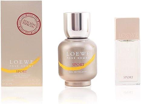 Loewe Sport Set de Agua de Colonia y Agua de Colonia Mini para hombre - 1 pack: Amazon.es: Belleza