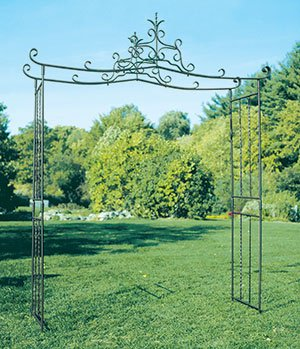 Achla Arbor Bench - Achla Designs Chippendale Arbor Garden Arch