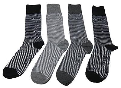 Calvin Klein Men's Dress Socks, Color Multi, (Pack of 4)
