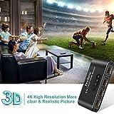 HDMI Switch 4k HDMI Splitter-Techole Aluminum HDMI