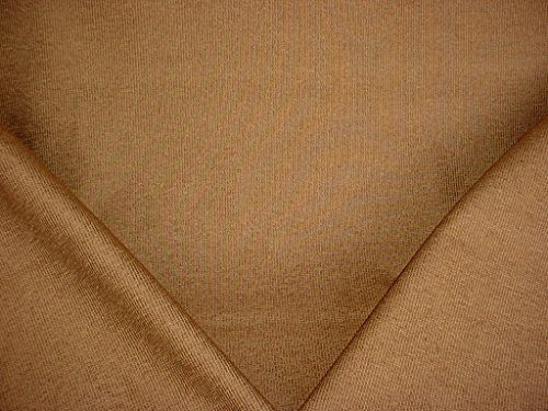 (79H2 - Bronze Brown / Gold Pinstripe / Strie Boucle Designer Upholstery Drapery Fabric - By the Yard)