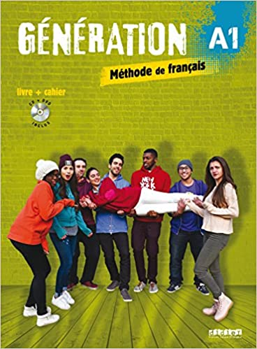 Generation 1 Niv A1 Livre Cahier Cd Mp3 Dvd French