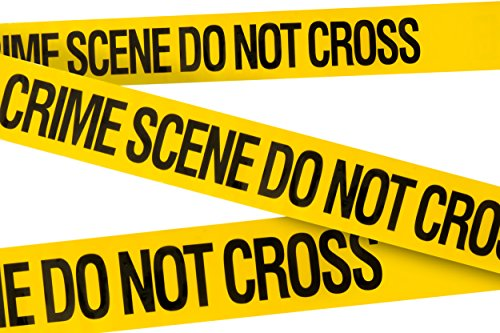 Striking Design (Crime Scene Do Not Cross Barricade Tape 3 X 100 • Bright Yellow with a bold Black Print for High Visibility • 3 in. wide for Maximum Readability • Tear Resistant Design)