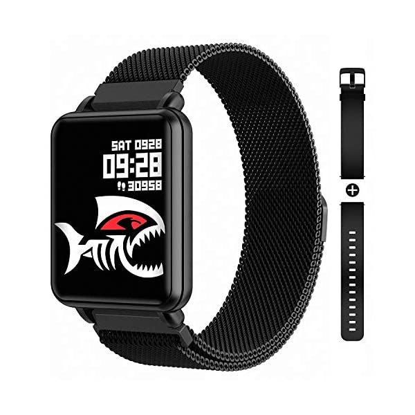 COLMI Smart Watch Full Touch Screen Smartwatch, Waterproof Heart Rate and Blood Pressure...