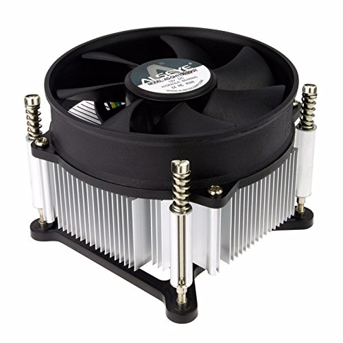 Premium Intel Core i3 / i5 / i7 Socket 1156/1155 / 1151/1150 4-Pin Connector CPU Cooler With Aluminum Heatsink & 3.62-Inch Fan With Pre-Applied Thermal Paste (TS15)