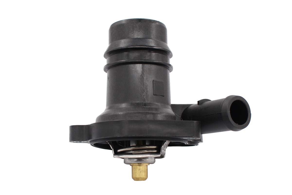 NewYall Engine Coolant Thermostat Housing w//Temperature Sensor