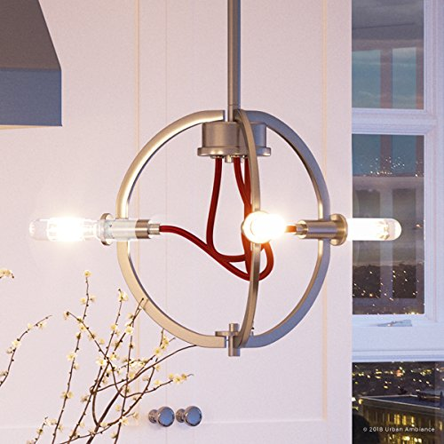 Mechanical Gents Collection - Luxury Industrial Chic Pendant Light, Small Size: 8