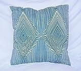 DormCo Mirror Image - Jasper - Cotton Throw Pillow - 18'' x 18''