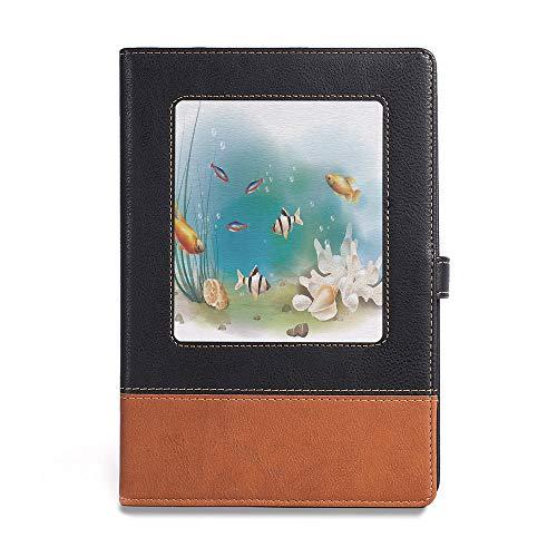Thick Notebook,Aquarium,A5(6.1