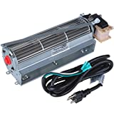 Durablow MFB007-A FK12 Replacement Fireplace Blower Fan Kit for Majestic, Vermont Castings, Monessen, Temco, Rotom HB-RB12