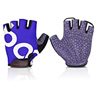 NEXTOUR Bike Gloves/Cycling Mountain Gloves Bicycle Road Half Finger Gloves with Anti-slip Shock-absorbing Pad Breathable Men's/Women's Gloves