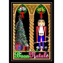 """Buon Natale"" Italian Toy Solder Christmas Greeting Card"