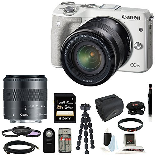 Canon-EOS-M3-Mirrorless-Camera-with-EF-M-18-55mm-Lens-Black-Sony-16GB-SD