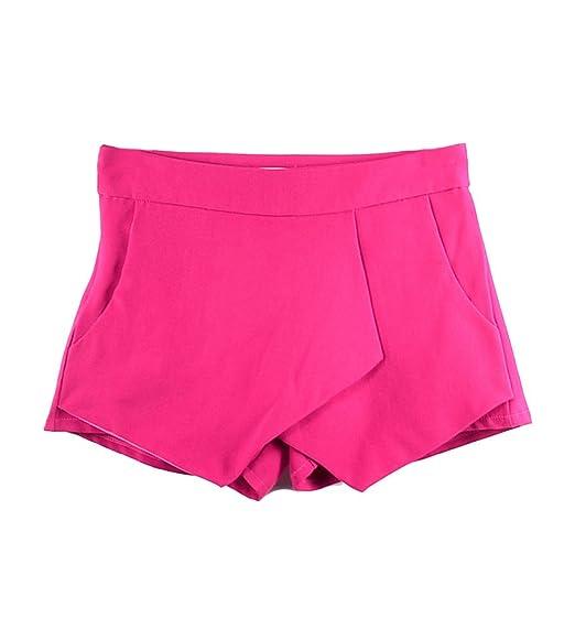 4 opinioni per Molly Donne Wrap Mini Gonne Pantaloni Bicchierini Rotolo Irregolare