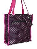 Ever Moda Polka Dot Tote Bag