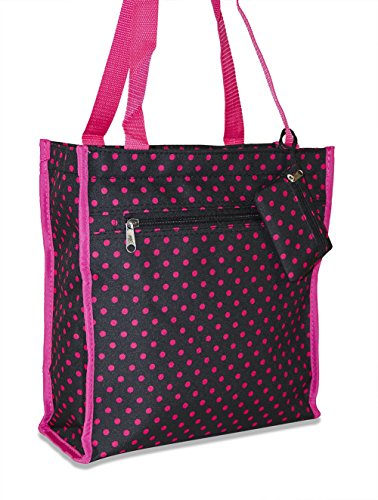 (Ever Moda Polka Dot Tote Bag)