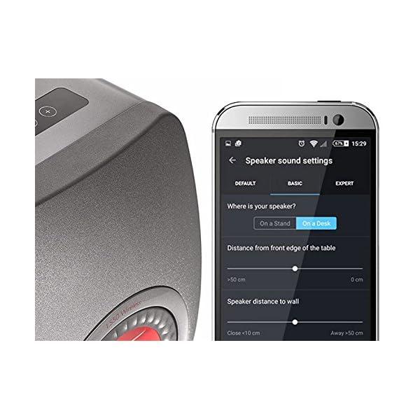 KEF LS50 Wireless - Enceinte sans Fil - Titane | Enceintes Actives | HiFi | Airplay 2 Enceintes | Spotify Connect, Tidal | LS50 système de Musique Active et système stéréo 2