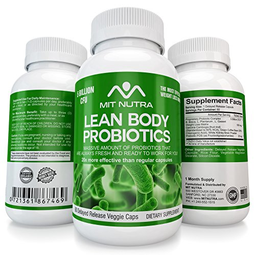 Best Lean Body Probiotics for Weight Loss | 40 Billion CF...