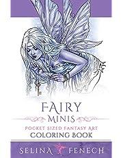 Fairy Minis - Pocket Sized Fairy Fantasy Art Coloring Book