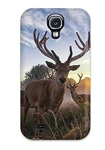 Alex Perez Riva's Shop New Galaxy S4 Case Cover Casing(deer) 1767124K50857383