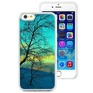 NEW Unique Custom Designed iPhone 6 4.7 Inch TPU Phone Case With Winter Withered Tree_White Phone Case