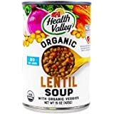 Health Valley Soup Lentil Ns Org - Pack of 6