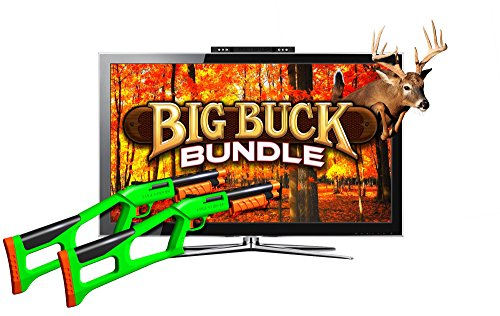 Sure Shot HD Big Buck Hunter Deluxe Bundle Video Game System (Computer Games Action)