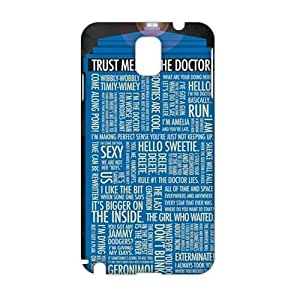 Angl 3D Case Cover Doctor Who Phone Case for Samsung Galaxy Note3