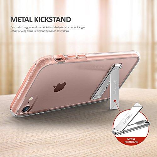 Obliq Etui avec Kickstand pour iPhone 7 Or rose