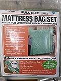 Uhaul Full Mattress Bag Set with Built-in Handles