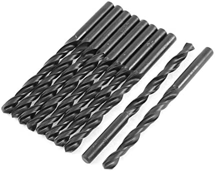 Aexit 6mm Cutting Dia 90mm Länge HSS Zylinderschaft Spiralbohrer Schwarz 10st (94b65cf6a8a42f65bb8df81258cdbc03)