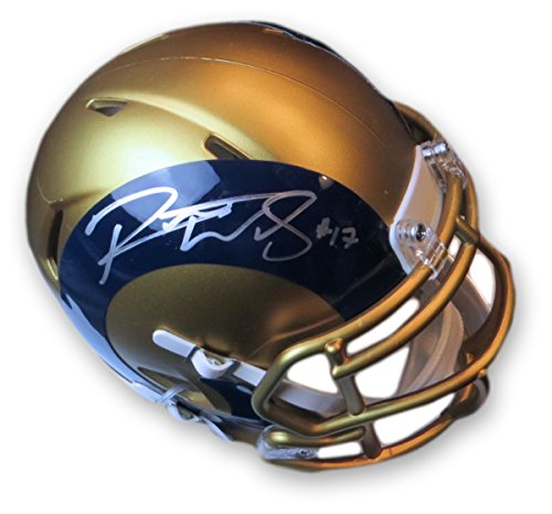 Signed Robert Woods - Robert Woods Signed Autographed Mini Helmet Los Angeles Rams Limited Blaze JSA