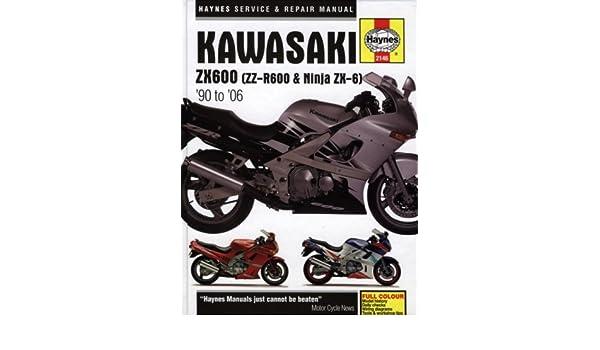 Kawasaki ZX600 ZZ-R600 & Ninja ZX-6 Service and Repair ...