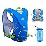 Cheap TRIWONDER 8L Hydration Vest for Outdoors Mochilas Trail Marathoner Running Race Hydration Pack Backpack fits Women Men Kids (Blue – with 1.5L Water Bladder)