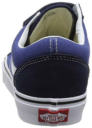 Blue Trainers Unisex Vans Adults' V Skool Old SqUXFY