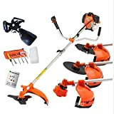 CHIKURA Multi powerful 52cc gasoline brush cutter 4 in 1 grass trimmer strimmer cutter garden tool