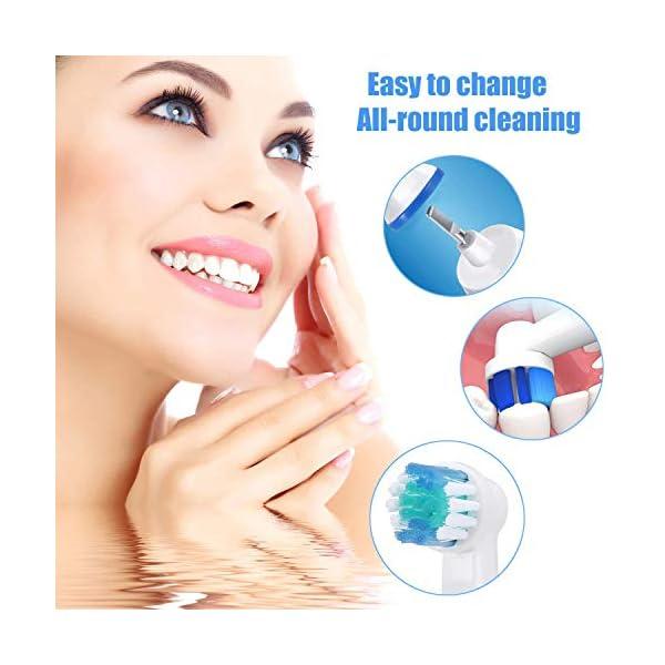 LSQtronics 16 Testine di Spazzolino da Denti di Sostituzione Compatibili per lo Spazzolino Elettrico Braun Oral-B… 4 spesavip