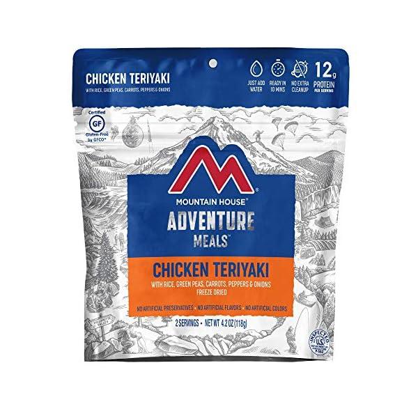 Frozen Chicken Teriyaki with Rice