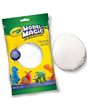 Crayola 113 gm Model Magic, White, School and Craft Supplies, Gift for Boys and Girls, Kids, Ages 3,4, 5, 6 and Up, Holiday Toys, Stocking Stuffers, Arts and Crafts, Easter Basket Stuffers, Easter Gifting