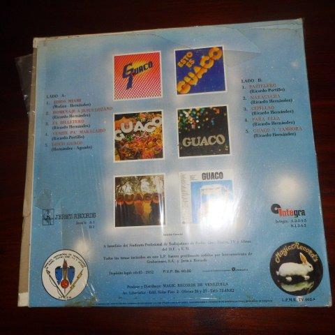 Guaco – Magic Guaco Y Todos Sus Exitos Sello: Magic Records (Venezuela) – L.P.M.R. TV-002-A Formato: Vinyl, LP, Compilation, Stereo