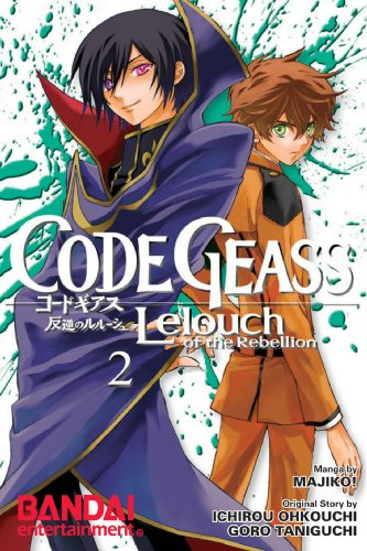 Price comparison product image Code Geass: Lelouch of the Rebellion, Vol. 2 (Manga) (v. 2)