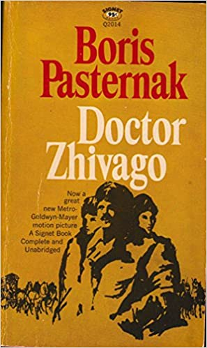 Image result for Doctor zhivago book cover