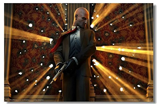 Lawrence Painting Hitman 47 Absolution Blood Money Game Canvas Wall Poster Hd Big Posters And Prints Decor On The Walls 08