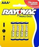Rayovac Heavy Duty AAA Batteries, 3AAA-4D, 4-Pack