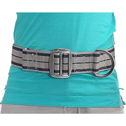 P PRETTYIA Cinturón de de Protección contra Caídas Cuerda para Cirujano de Árboles Montañismo Escalada en Roca