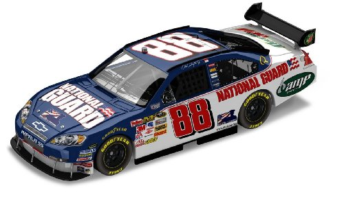 Motorsports Authentics/Action Dale Earnhardt Jr. National Guard Salute The Troops - 1/24 2008